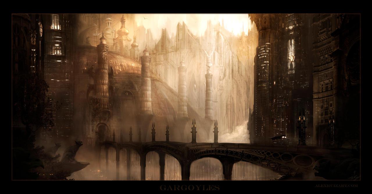 Gargoyles by AlexRuizArt