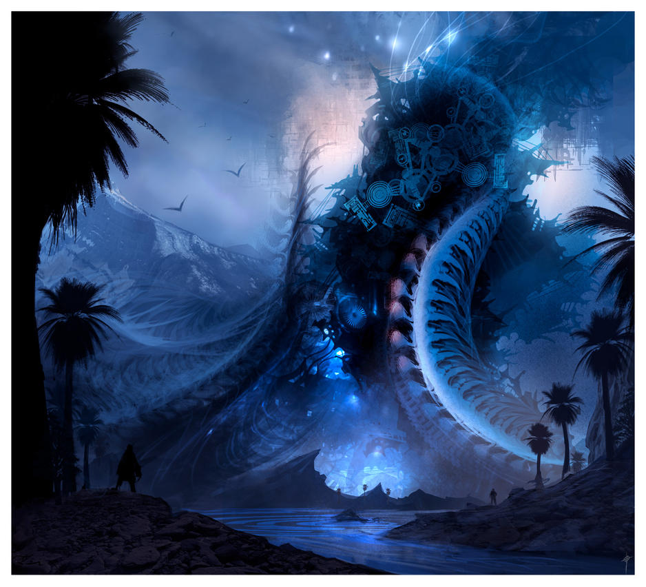 Creature of the Oasis by AlexRuizArt