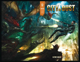 City of Dust- cover art by AlexRuizArt