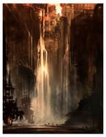 Trainwreck Falls by AlexRuizArt
