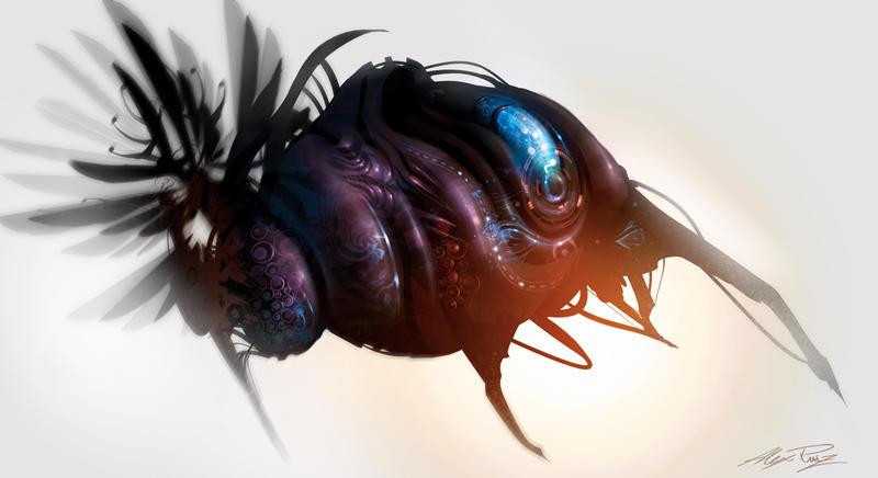 Beetle by AlexRuizArt