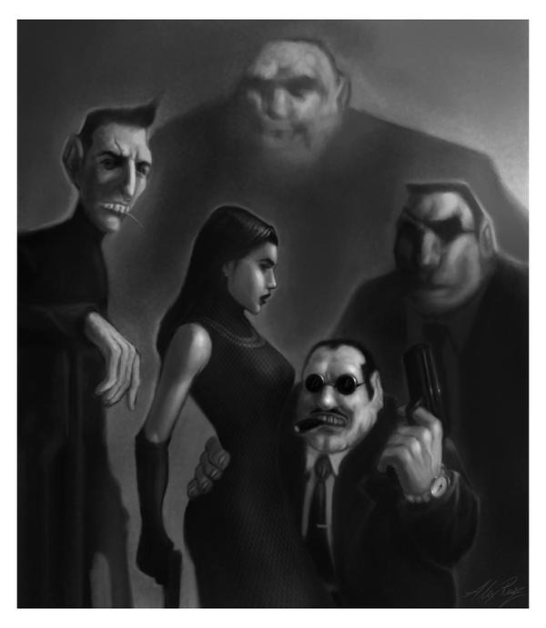 Brute Squad by AlexRuizArt