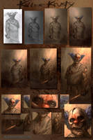 Killer Krusty-process by AlexRuizArt