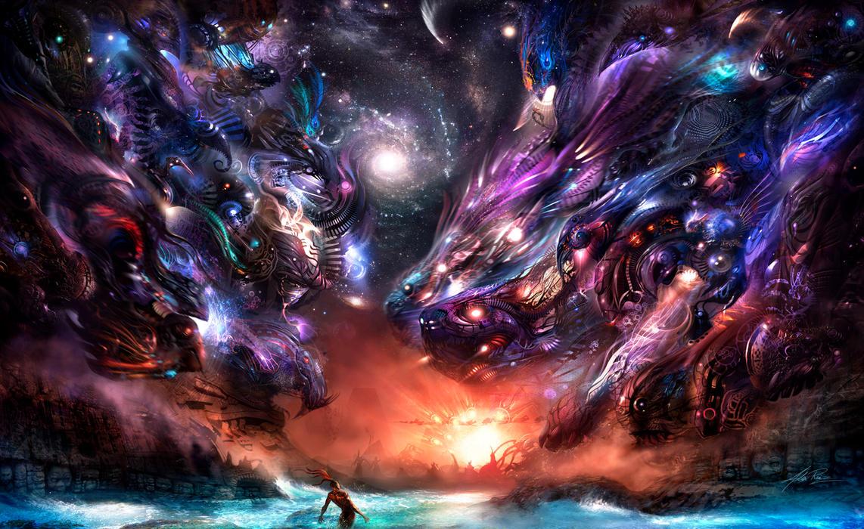 фантастические картинки в стиле фэнтези