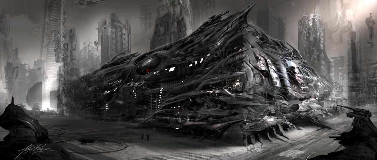 Apocalypse Walmart by AlexRuizArt