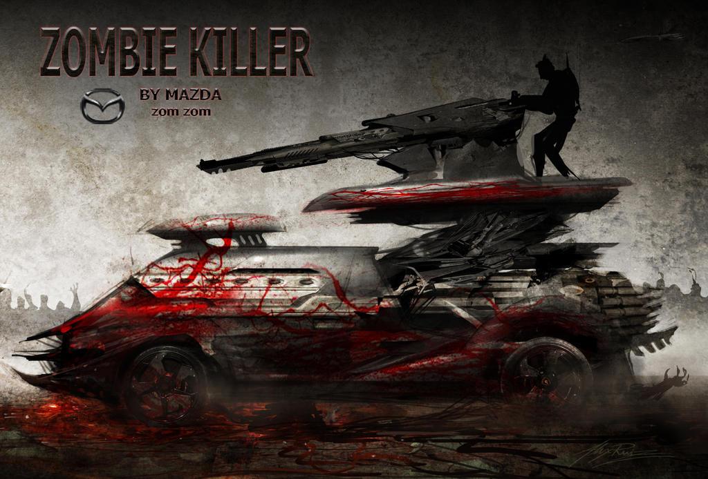 Zombie Killer by AlexRuizArt