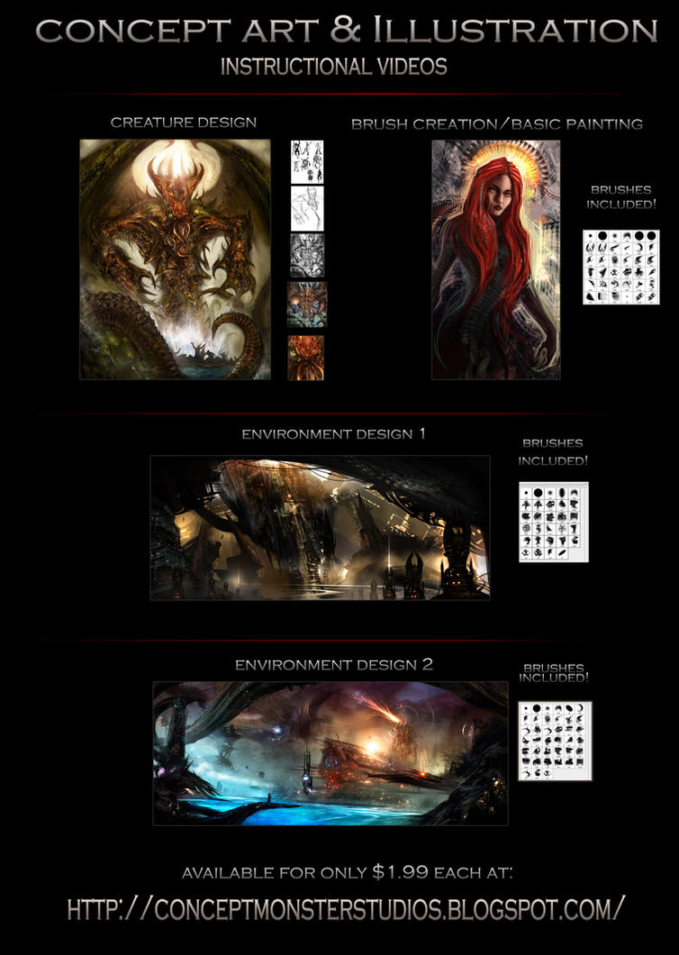 Concept Art Techniques by AlexRuizArt