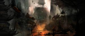 Post Apoc Pagodas WIP