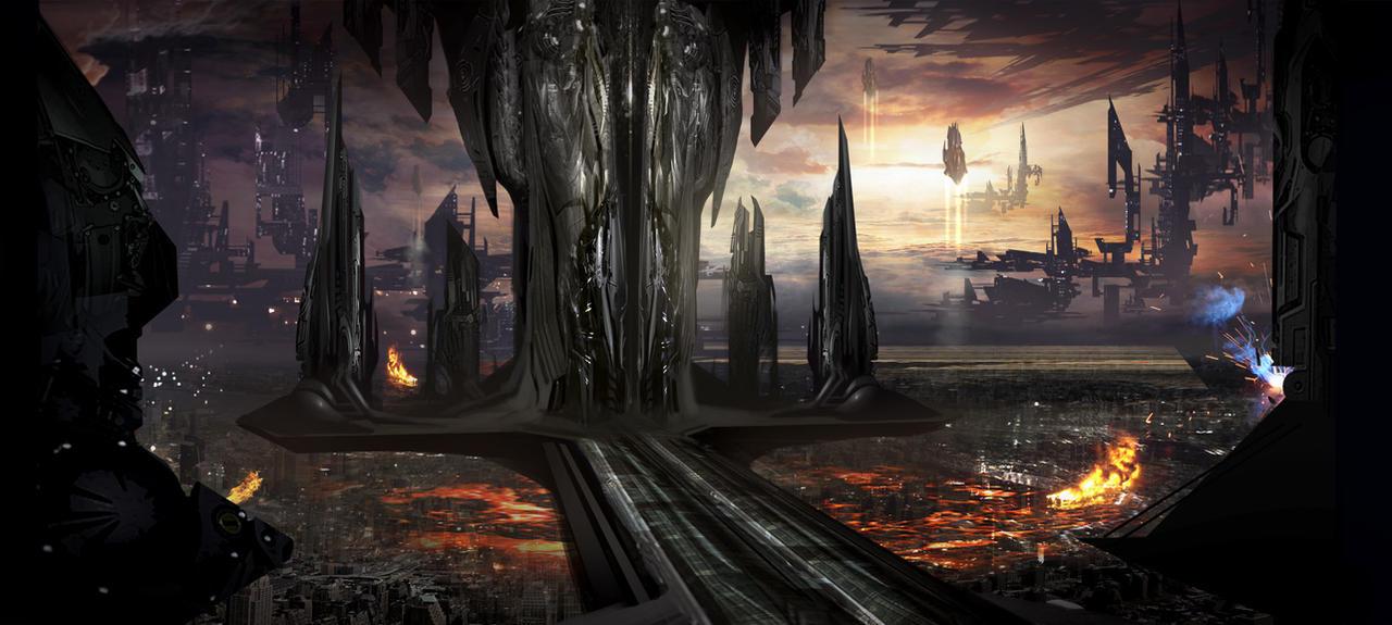 La Plaie [Starfire] Alien_city_wip_by_alexruizart_d4l6wwd-fullview.jpg?token=eyJ0eXAiOiJKV1QiLCJhbGciOiJIUzI1NiJ9.eyJzdWIiOiJ1cm46YXBwOjdlMGQxODg5ODIyNjQzNzNhNWYwZDQxNWVhMGQyNmUwIiwiaXNzIjoidXJuOmFwcDo3ZTBkMTg4OTgyMjY0MzczYTVmMGQ0MTVlYTBkMjZlMCIsIm9iaiI6W1t7ImhlaWdodCI6Ijw9NTc1IiwicGF0aCI6IlwvZlwvOGVjY2MwNjctNDY4YS00NGRiLTg1YjYtZDkwYmQ5NDg2YWE2XC9kNGw2d3dkLTgxNmU0NjZiLWIwNWMtNDkwOC1iNjY2LWEyZWYxOWEwMjI0MC5qcGciLCJ3aWR0aCI6Ijw9MTI4MCJ9XV0sImF1ZCI6WyJ1cm46c2VydmljZTppbWFnZS5vcGVyYXRpb25zIl19