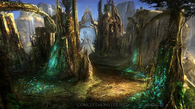 Endless Stair_Fantasy Environment