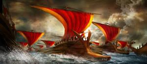 Ancient Ship Battle