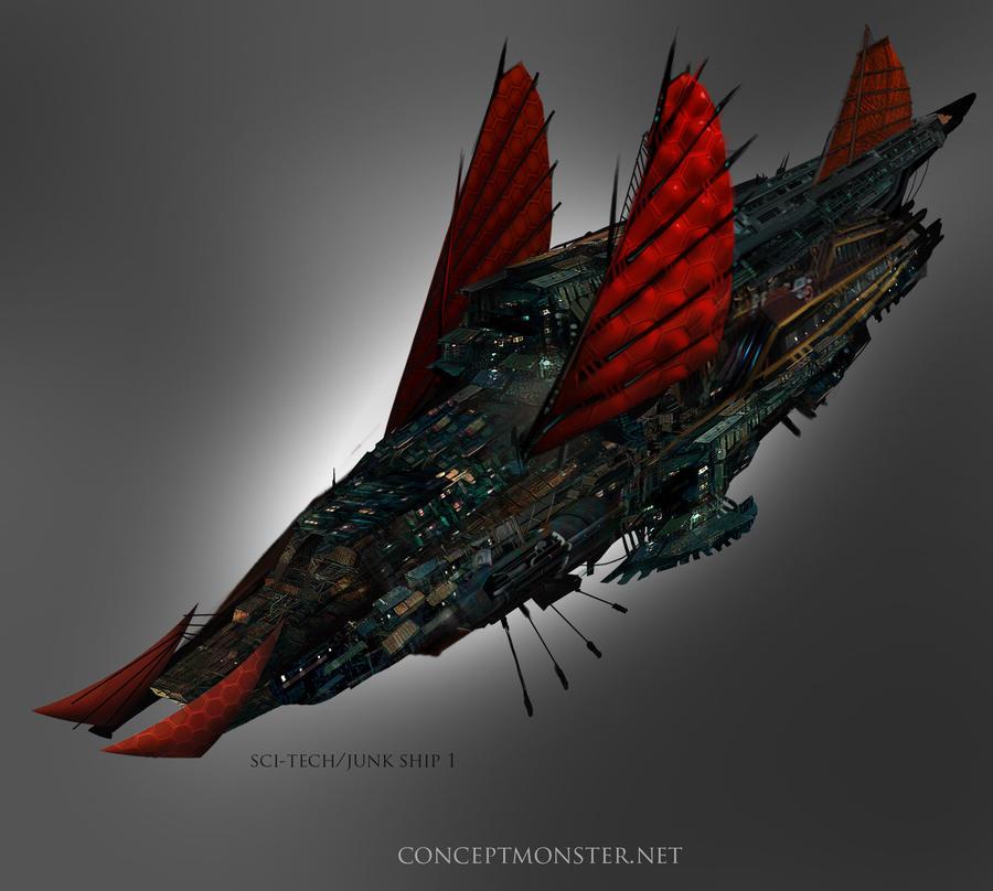 Battalions of Honor Junk_airship_by_tarrzan-d4uvgdv
