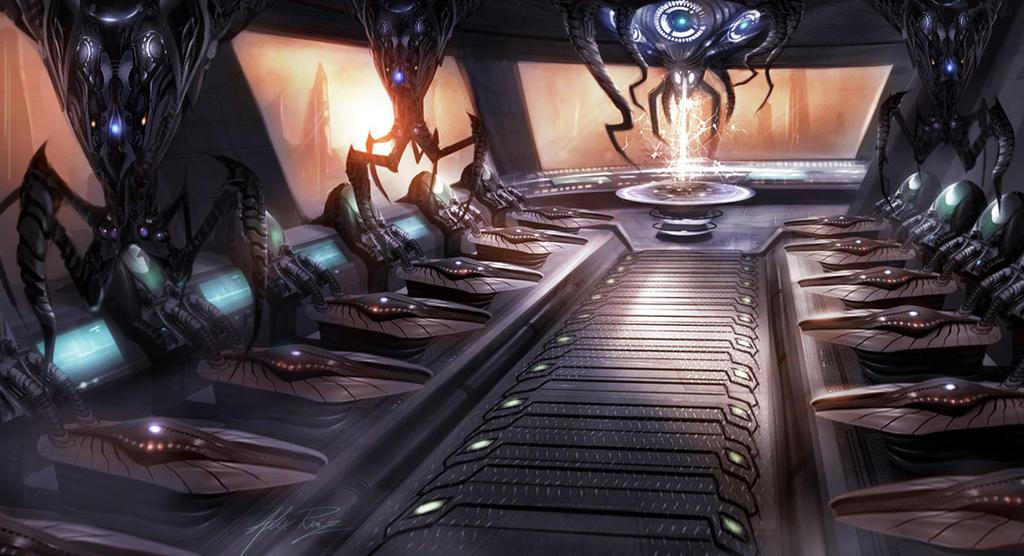 Alien Hospital by AlexRuizArt