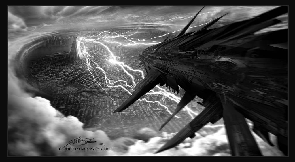 Invasion by AlexRuizArt