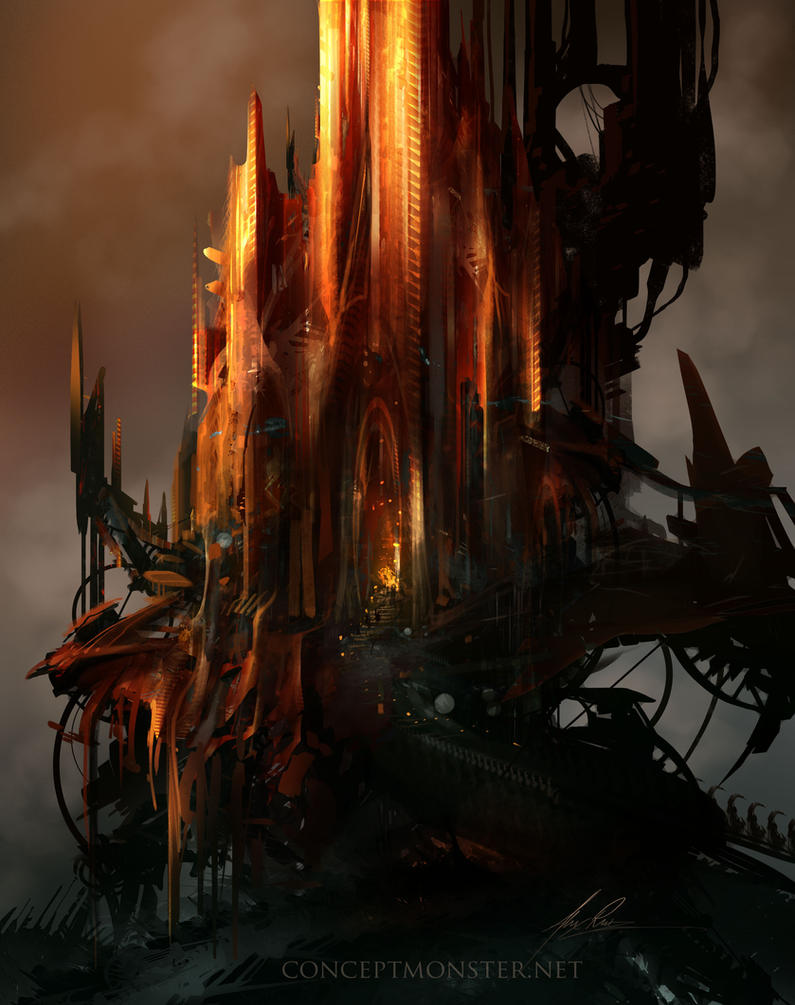 Castle by AlexRuizArt