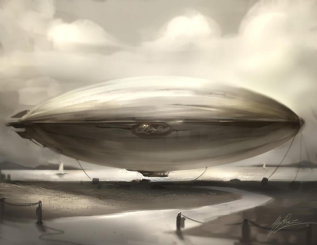 Zeppelin by AlexRuizArt