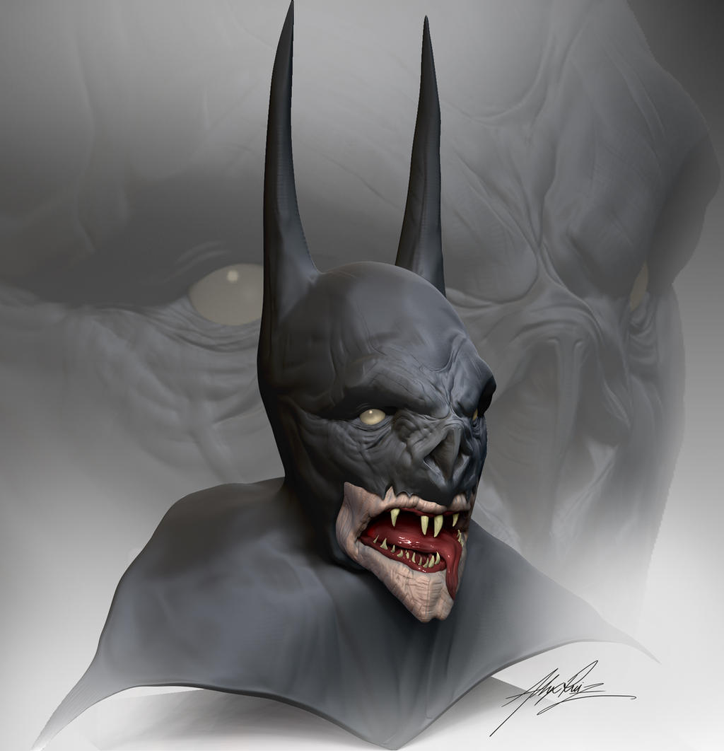 Vampire Batman by AlexRuizArt