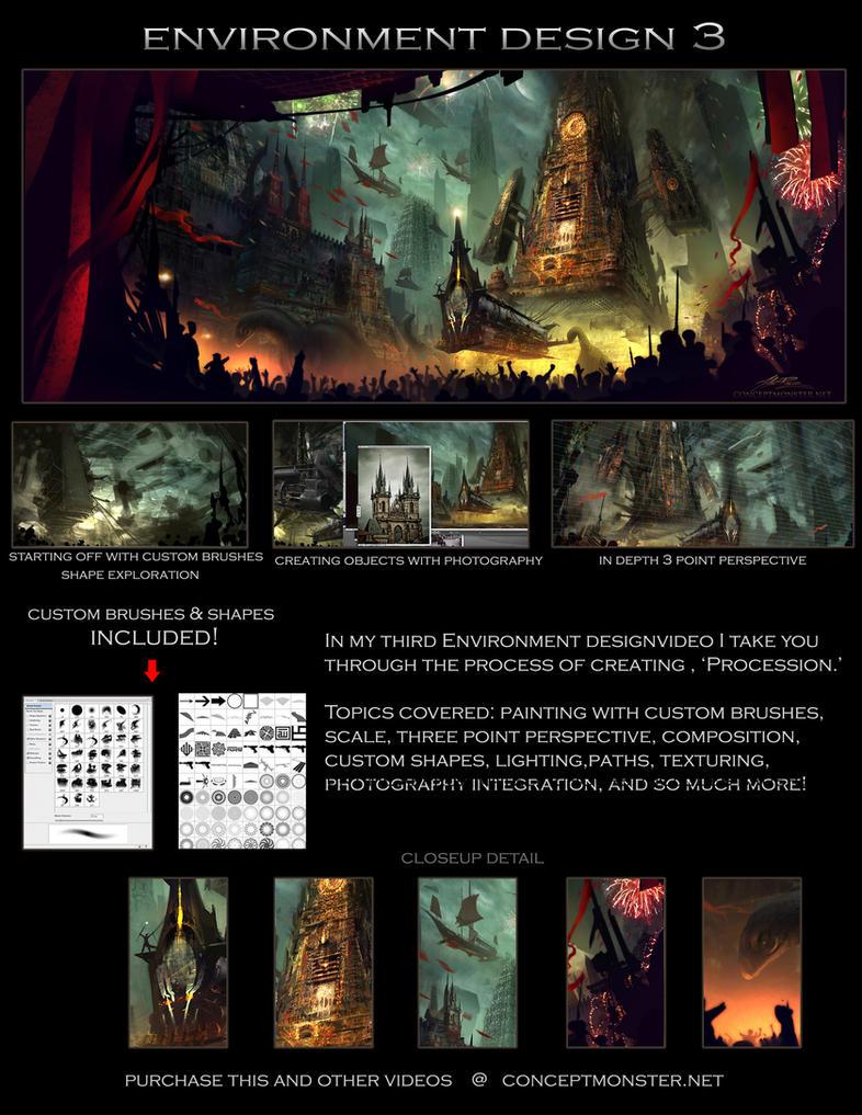 Environment Design 3 by AlexRuizArt