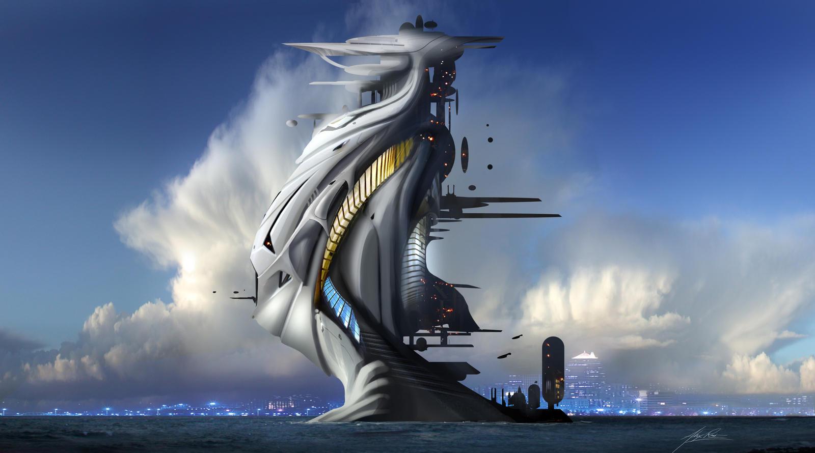 Future architecture by alexruizart