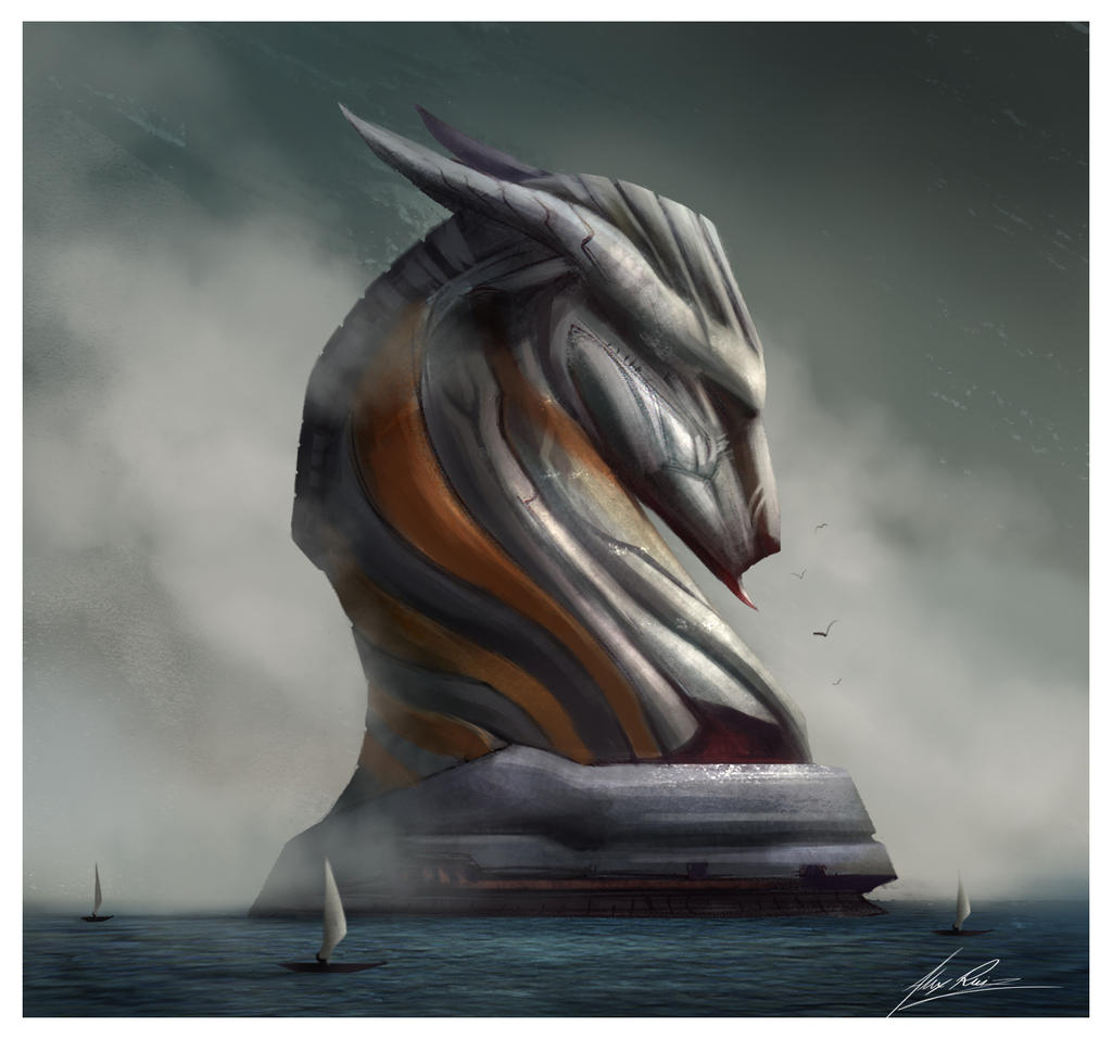 Sea Horse by AlexRuizArt