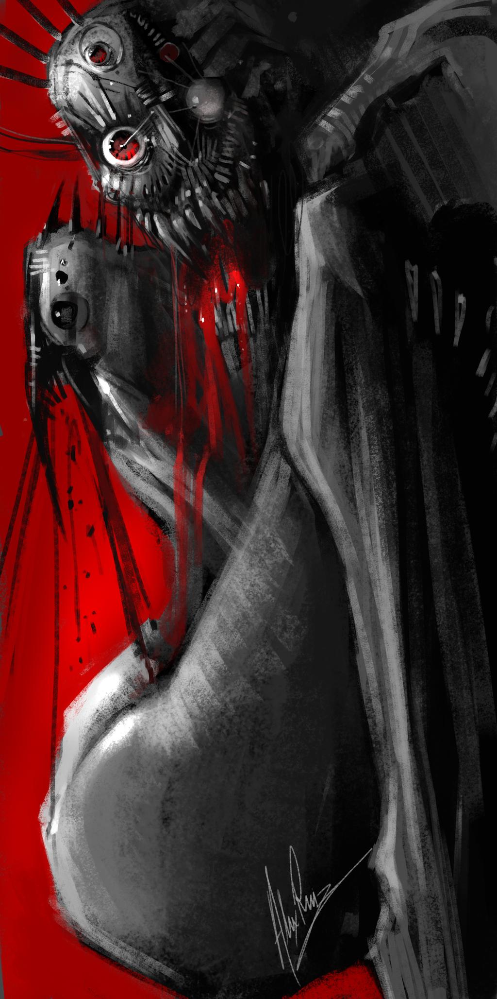 Nightmare by AlexRuizArt