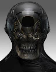 Zombie Skullmech by AlexRuizArt