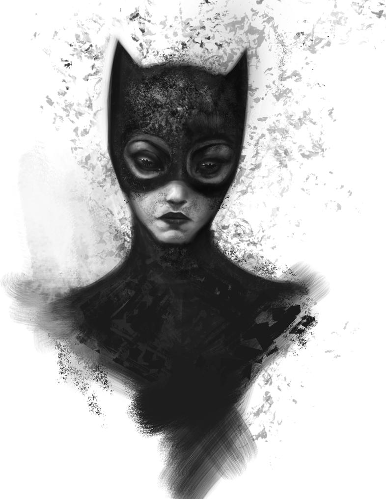 Catwoman by AlexRuizArt