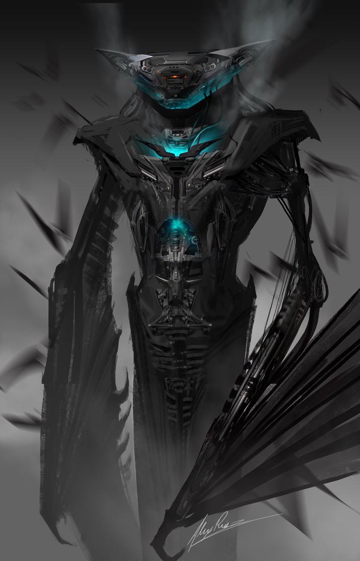BatMechMan by AlexRuizArt