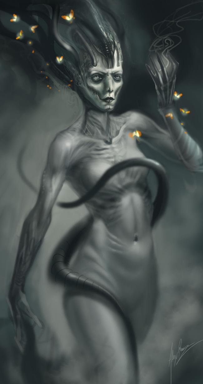 Lady Firefly by AlexRuizArt