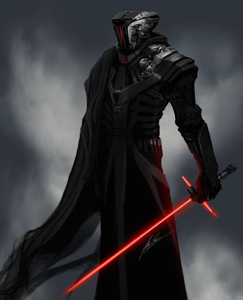 Mech Jedi by AlexRuizArt