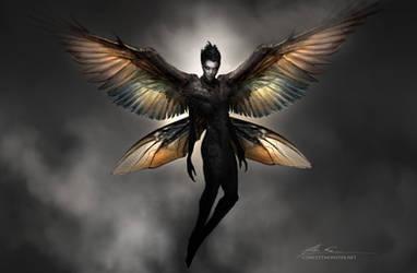 Dark Fairy by AlexRuizArt