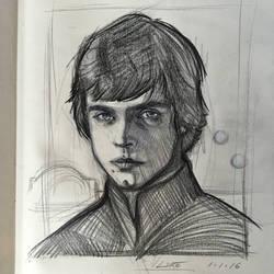 Luke Skywalker by AlexRuizArt