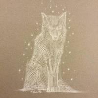 Wolf by AlexRuizArt