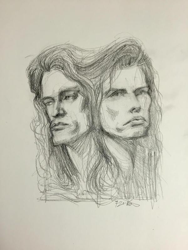 Aerosmith's Brain by AlexRuizArt