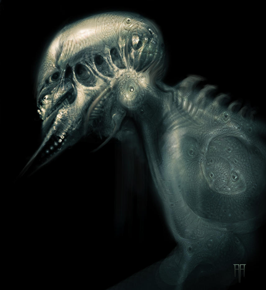 Dream Ghoul by AlexRuizArt