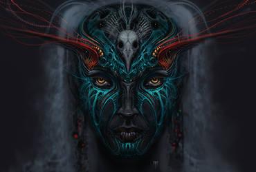 Shaman Queen by AlexRuizArt