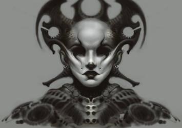 Alien Queen by AlexRuizArt