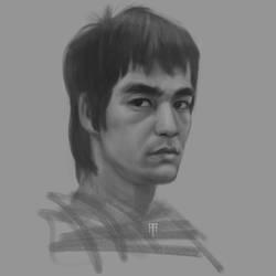 Bruce Lee by AlexRuizArt