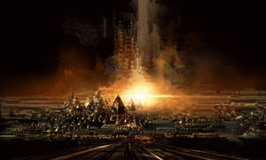 Gold Pyramid City