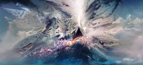 Atlantis Black Pyramid