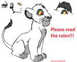 TLK base: cub Simba sit