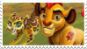 Kion and Fuli stamp by SashaShasta