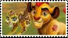 Kion and Fuli stamp by SashaShasta