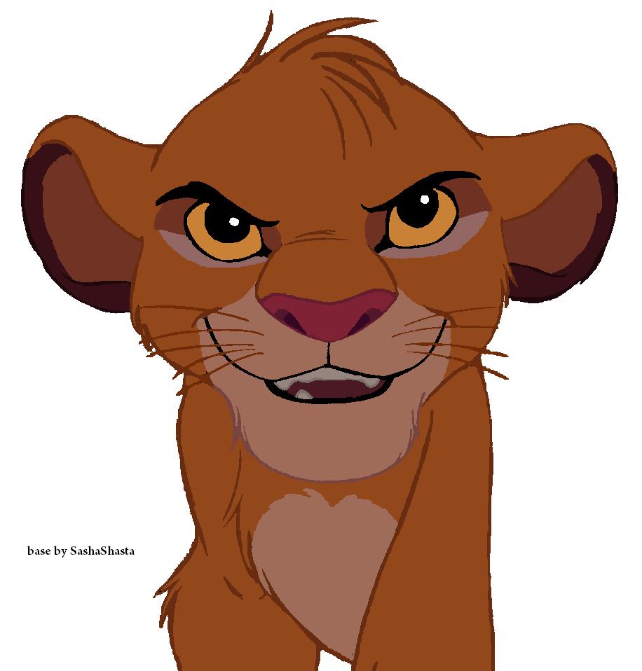 TLK Base: Cub Simba By SashaShasta On DeviantArt