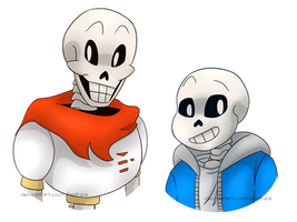 Papyrus and Sans by Rethza