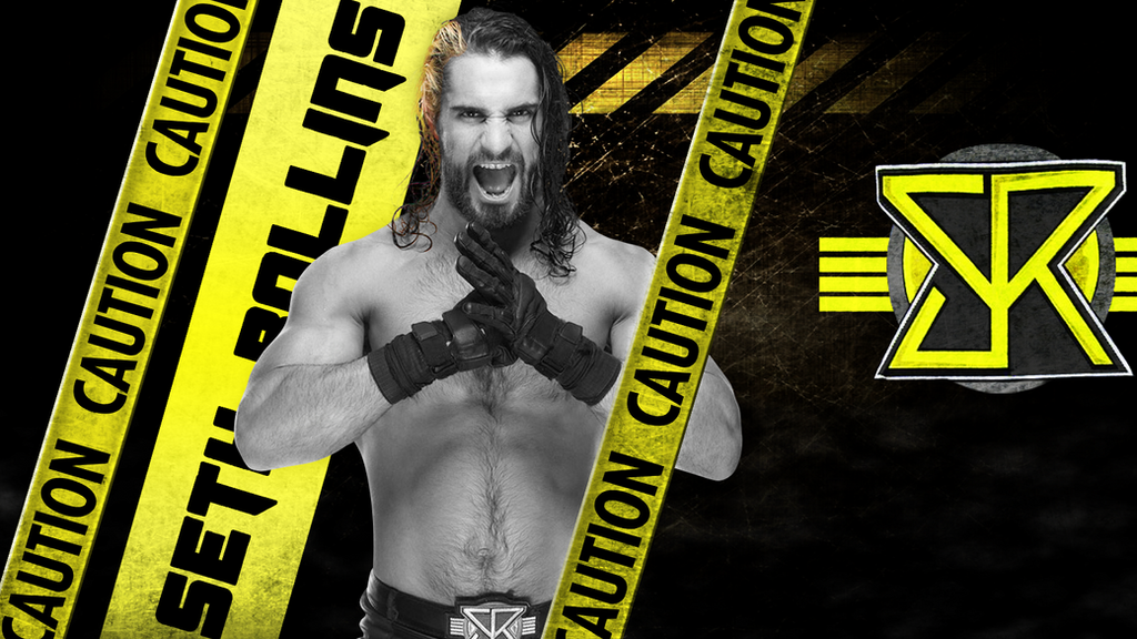 Les grades. - Page 2 Wwe_seth_rollins_wallpaper_hd_by_theinteligent-d8o42zz