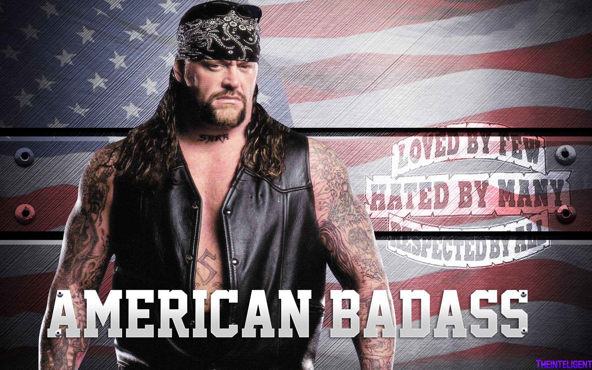 The Undertaker American Badass Wallpaper HD By Theinteligent