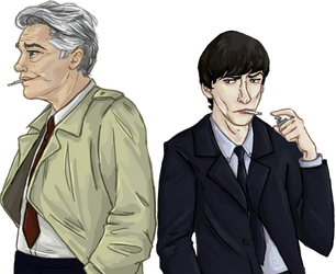 George and John by DetectiveMel