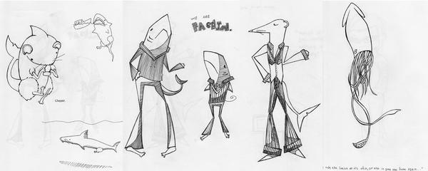 Sketch Dump 3 by undercoverwombat