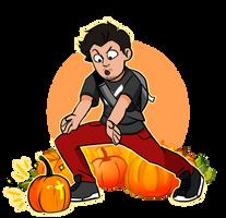 Pumpkins by Azueme